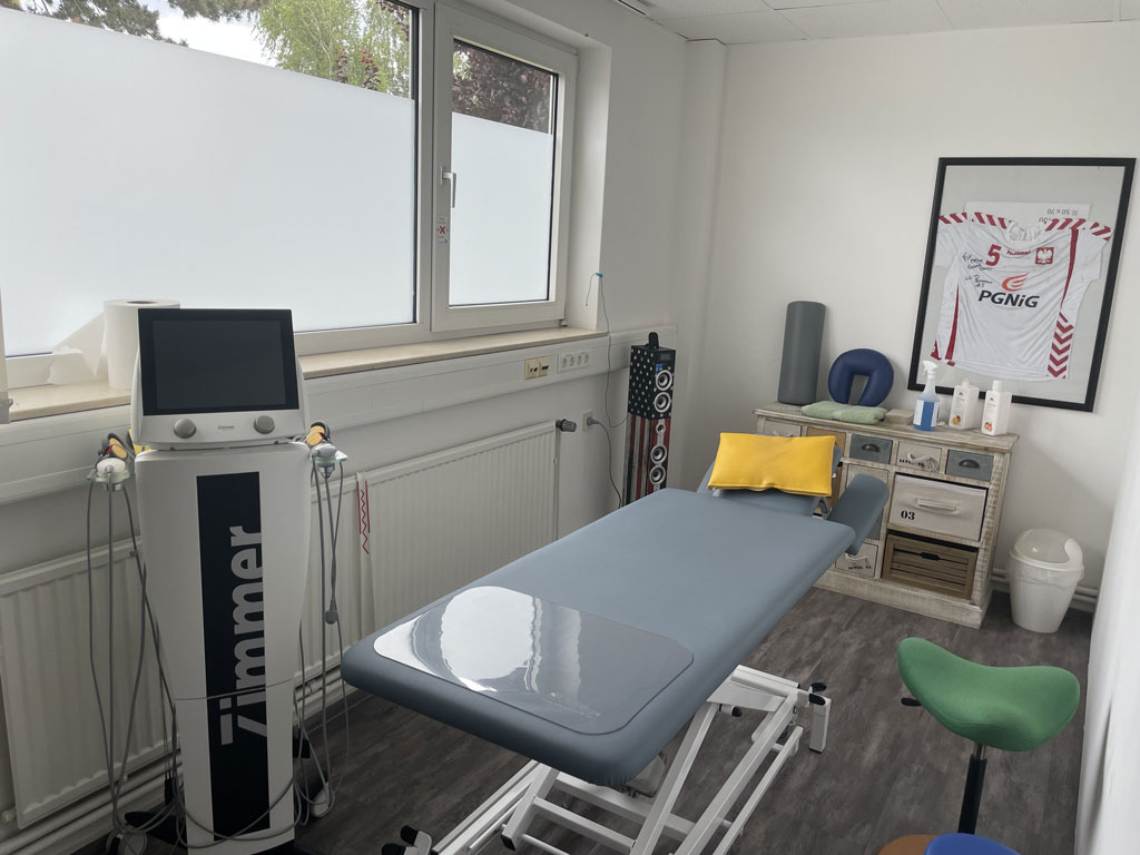 Behandlungsraum - Physio-Vital Minden