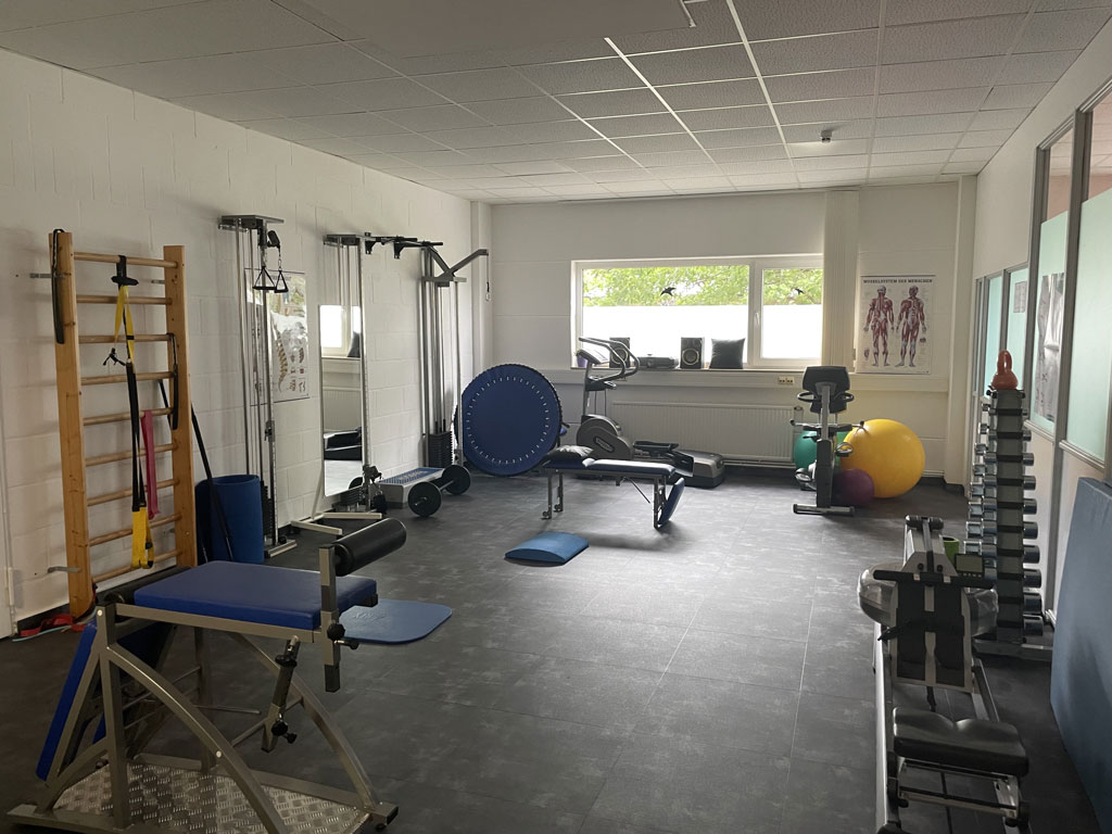 Trainingsraum - Physio-Vital Minden